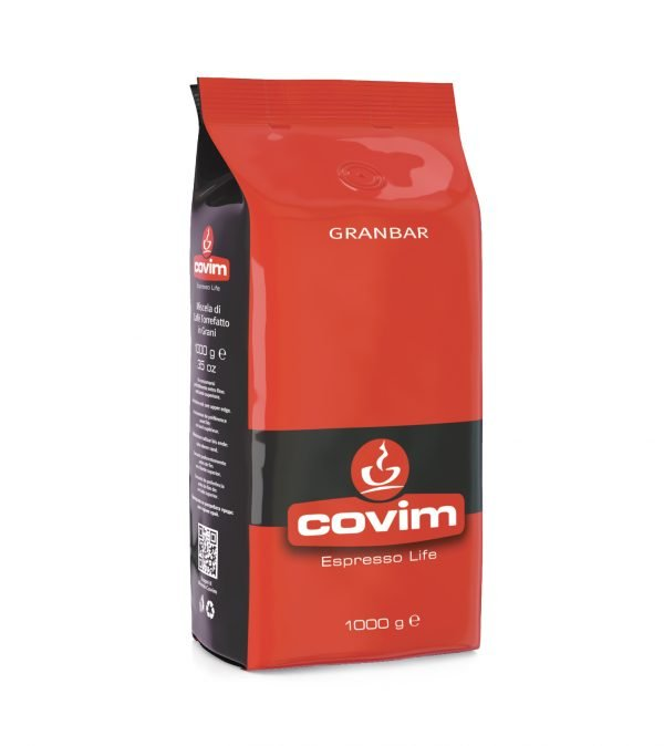 Covim Granbar hela kaffebönor 1Kg från www.kaffeexperten.se