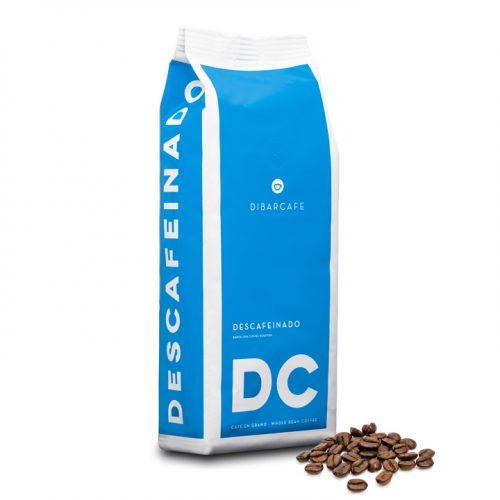 Dibarcafe decaf 1kg hela kaffebönor