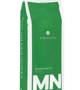Ekologiska kaffebönor grön förpackning