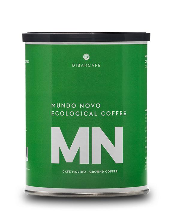 Mundonovo ekologiskt malet kaffe