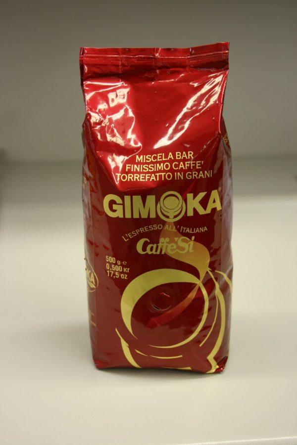 Gimoka rosso hela kaffebönor