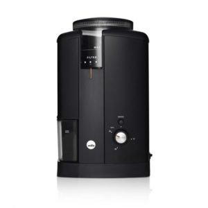svart elektrisk kaffekvarn wilfa