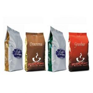 italienska kaffebönor prova på låda