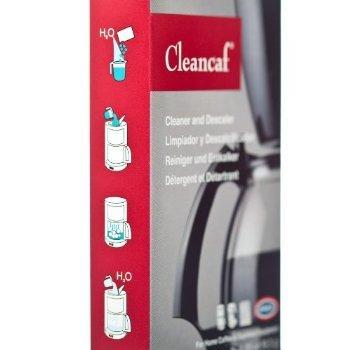 URNEX Cleancaf rengöring och avkalkning förpackning om 3 påsar från www.kaffeexperten.se