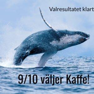 vallådan 2018 med kaffebönor från www.kaffeexperten.se