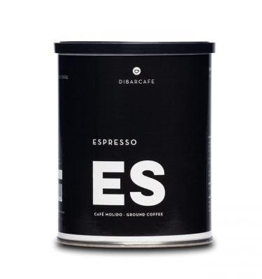 DIBAR Espresso malet kaffe 250g från www.kaffeexperten.se
