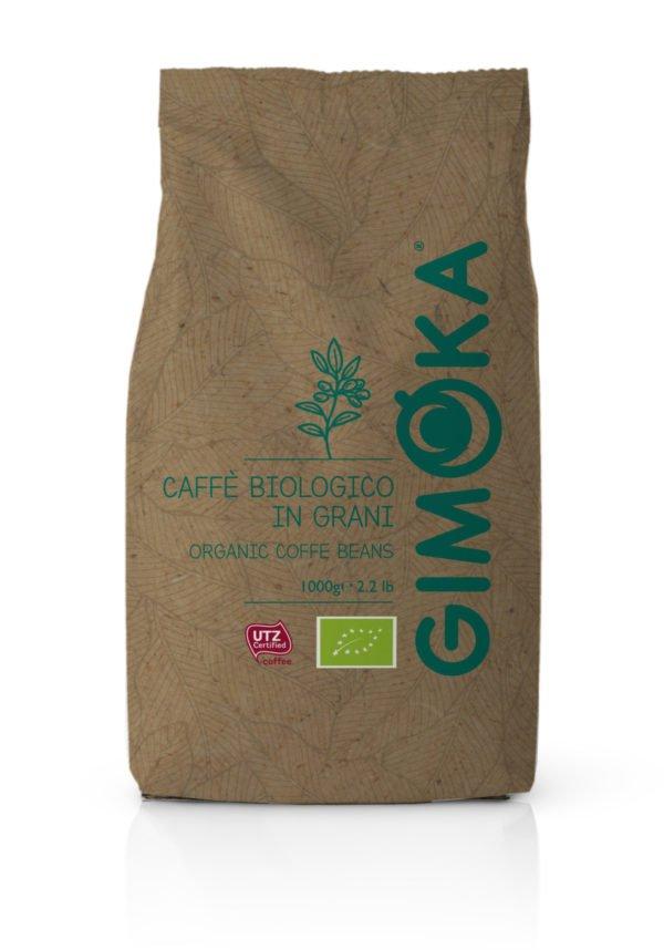 Gimoka Organic UTZ 1kg ekologiska kaffebönor från www.kaffeexperten.se