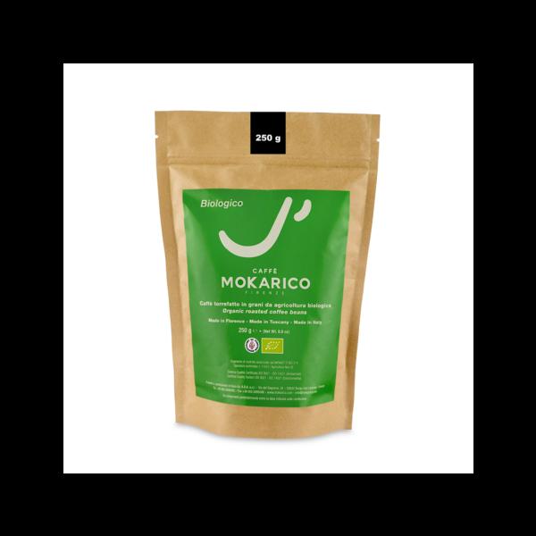 Mokarico Bio 250g påse ekologiska kaffebönor från www.kaffeexperten.se